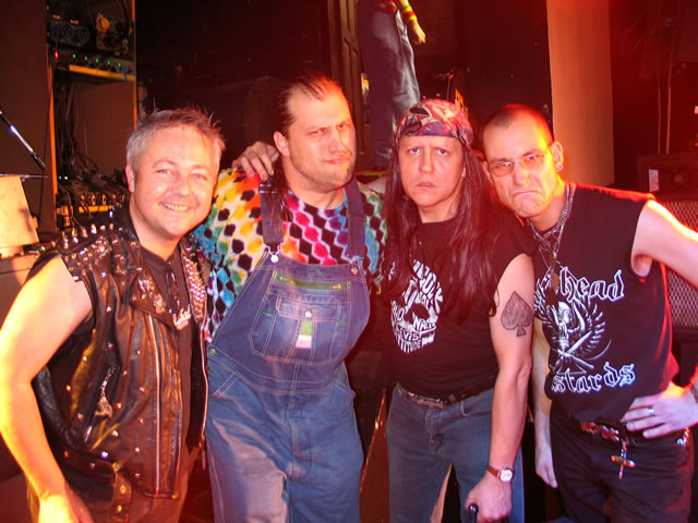 Photos from the gig with Hayseed Dixie